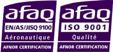 Qualification ISO9001 - A�ro EN9100